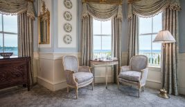louis xvi luxury room at the chanler at cliff walk