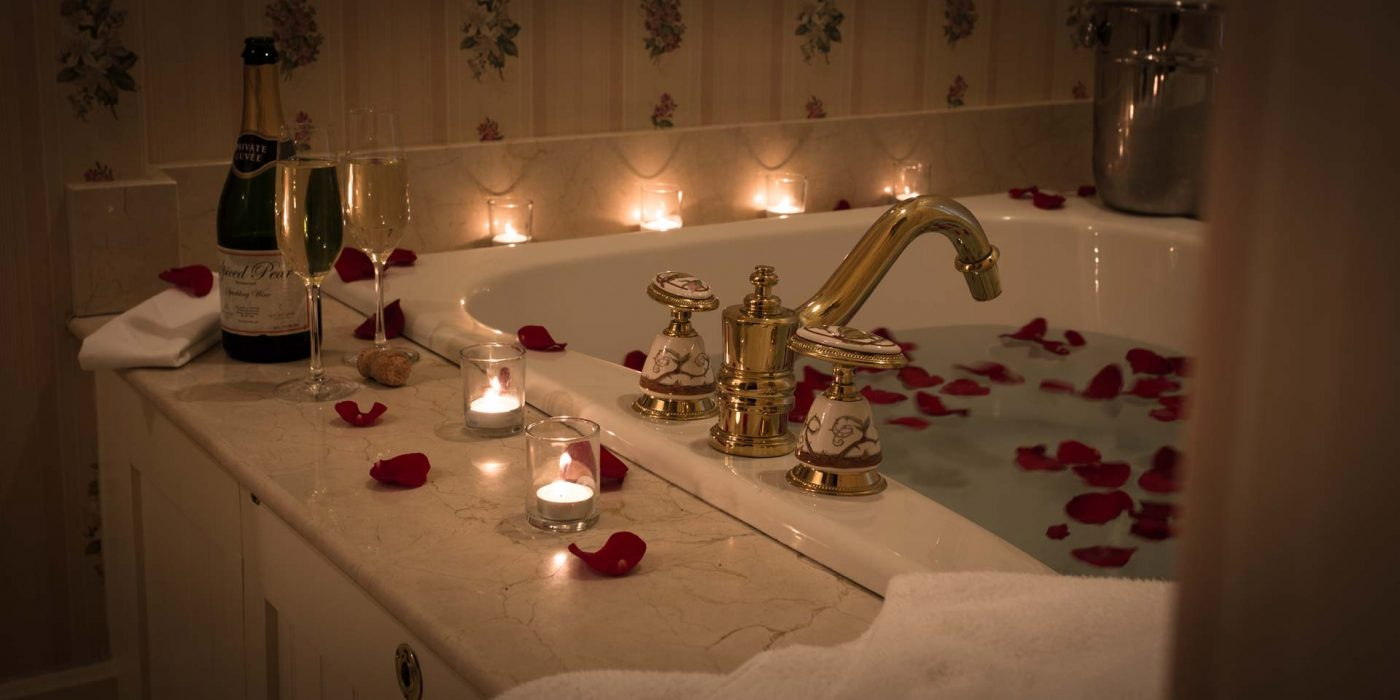 Take a bath in the Briar Rose Guest Room