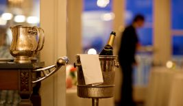 Upgrade Your Stay With a Bottle of Spiced Pear Sparkling Wine Upon Arrival