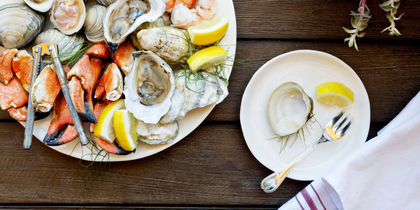 Indulge in chilled local oysters at The Chanler Bar
