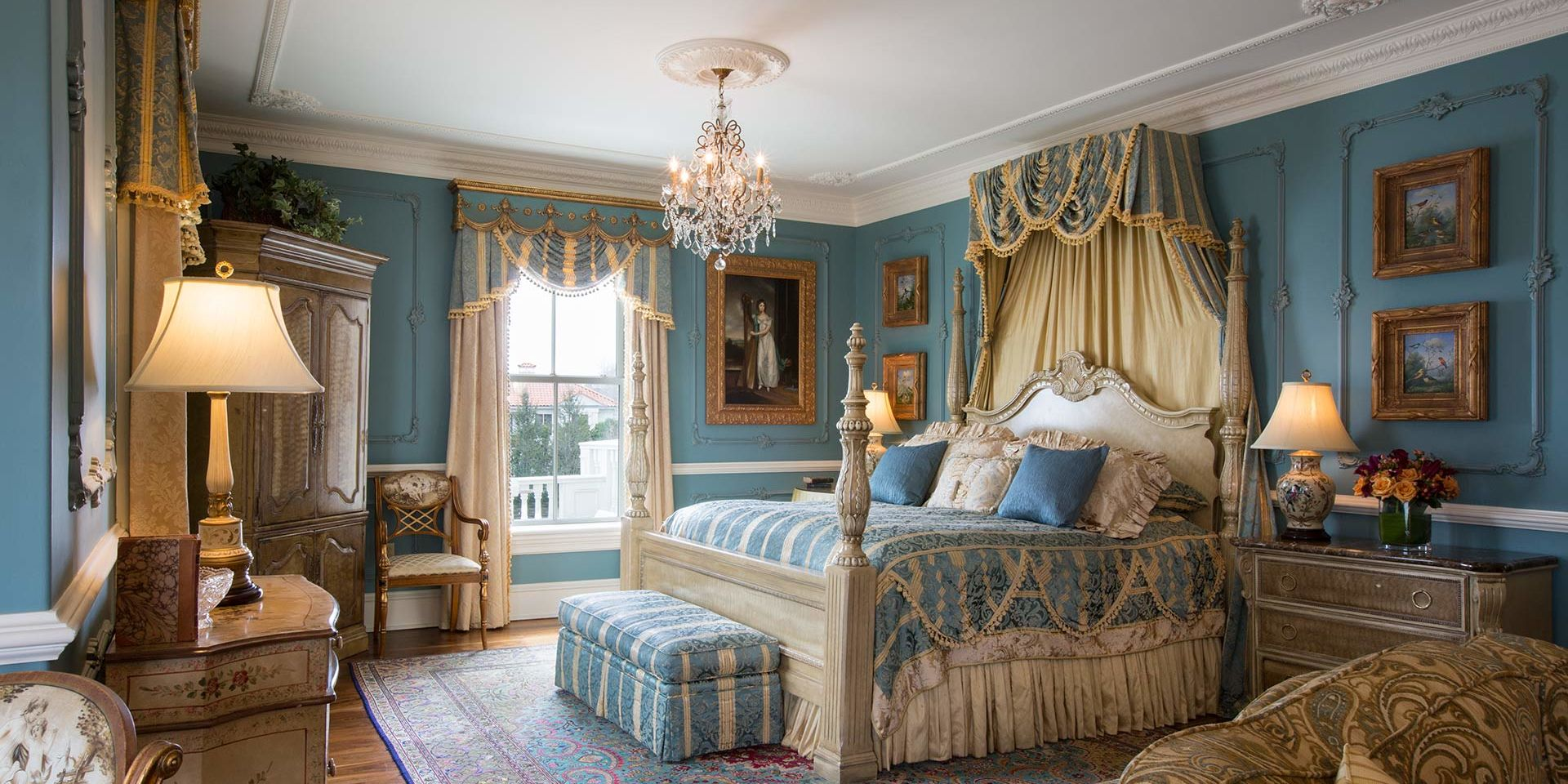 beautiful renaissance room at the chanler
