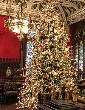 2019 Christmas at the Newport Mansions