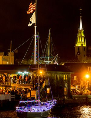 22nd Annual Newport Illuminated Boat Parade