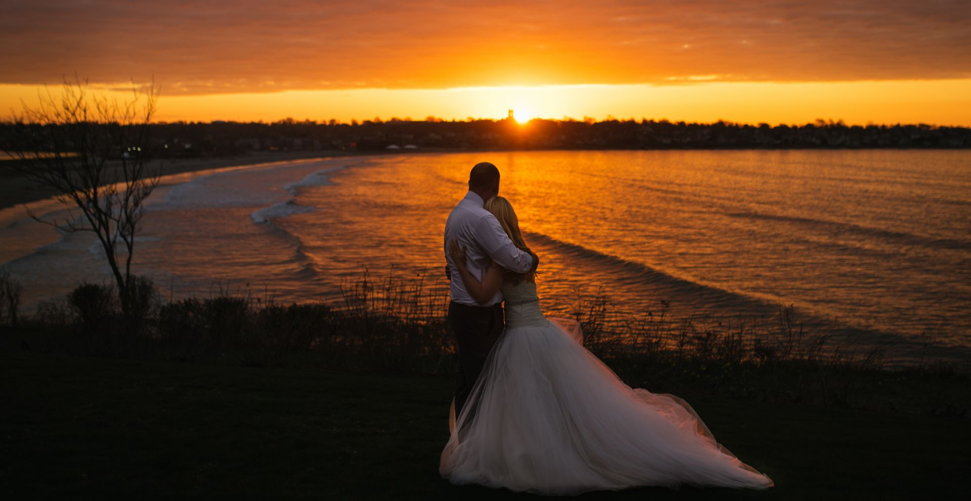 Take in the sunrise from The Chanler grounds; the morning after your special day.
