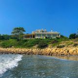 Take in the view of The Chanler from Easton's Beach.