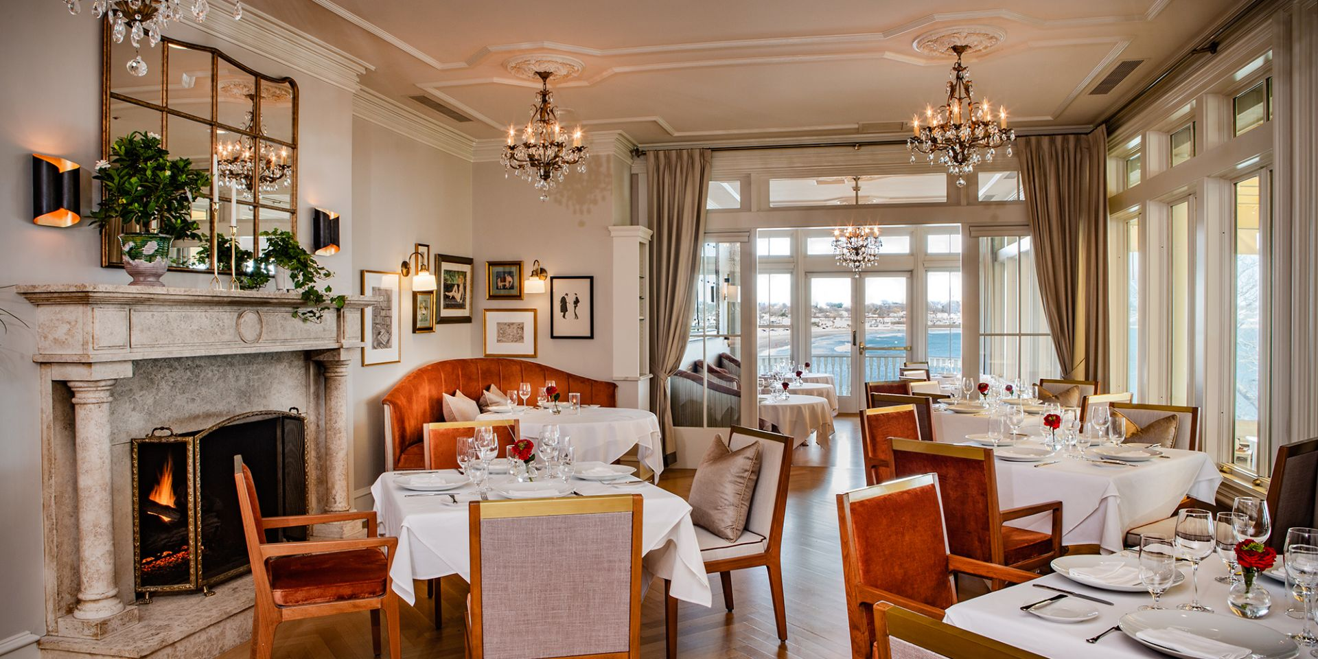 Dining In Newport Ri The Chanler At Cliff Walk
